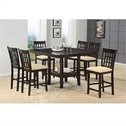 Hillsdale Tabacon Counter Height Dining Set in Cappuccino