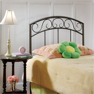 Hillsdale Wendell Spindle Headboard in Copper Pebble