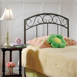 Hillsdale Wendell Spindle Headboard in Copper Pebble - Full/Queen