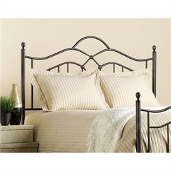 Hillsdale Oklahoma Metal Headboard in Bronze Finish - King