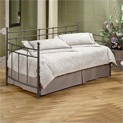 Hillsdale Providence Metal Daybed in Antique Bronze Finish with Pop-Up Trundle