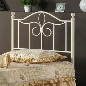 Hillsdale Westfield Spindle Headboard in Off-White