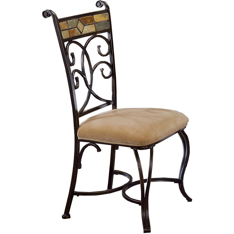 Pompei Fabric  Dining Chair (Set of 2)