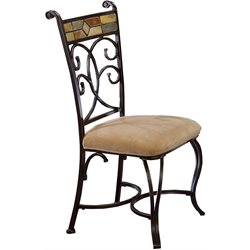 Hillsdale Pompei Fabric  Dining Chair (Set of 2)