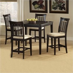Hillsdale Bayberry 5 Piece Cherry Counter Height Dining Table Set