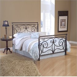 Hillsdale Brady Bed in Antique Bronze Finish - King