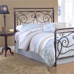 Hillsdale Brady Premium Spindle Headboard in Bronze - Full/Queen