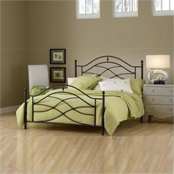 Hillsdale Cole Bed in Black Twinkle Finish - Twin