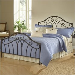 Hillsdale Josephine Bed in Metallic Brown Finish - Full