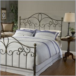 Hillsdale Meade Spindle Headboard in Silver Gold - Full/Queen