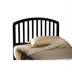 Hillsdale Carolina Headboard in Black - Full/Queen
