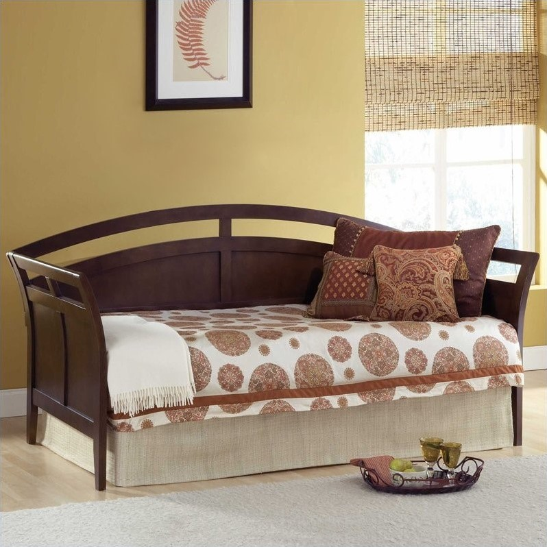 Watson Wood Daybed in Espresso Finish