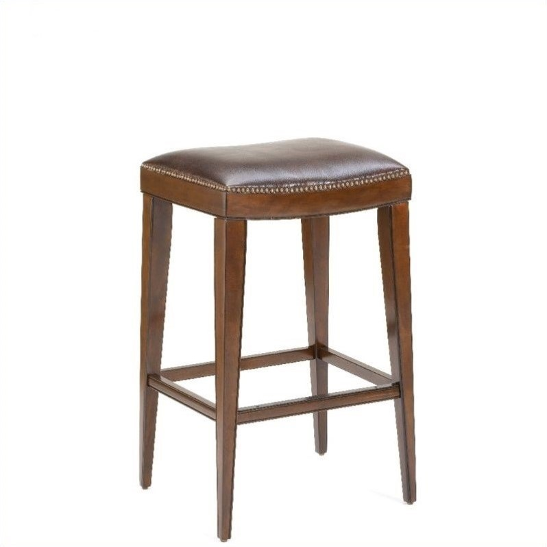 Hillsdale Riverton 26 Quot Backless Counter Stool In Rustic