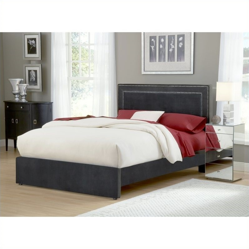 Hillsdale Amber Bed in Pewter