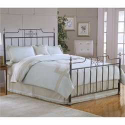 Hillsdale Amelia Bed in Frosted Black - Queen