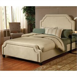 Hillsdale Carlyle Upholstered Bed in Buckwheat - California King