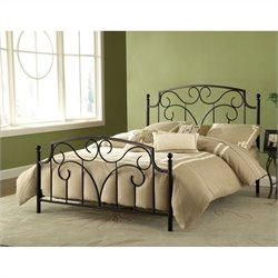 Hillsdale Cartwright Bed in Magnesium Pewter - Full
