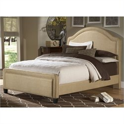 Hillsdale Veracruz Upholstered Bed in Beige Tweed - Queen