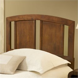 Hillsdale Stephanie Slat Headboard in Walnut
