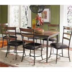Hillsdale Cameron 7 Pc Rectangular Wood Dining Set