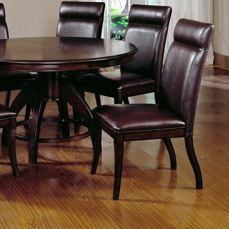 Hillsdale Nottingham 5 Piece Dining Set in Dark Walnut