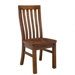 Hillsdale Outback Dining Chair in Distressed Chestnut (set of 2)