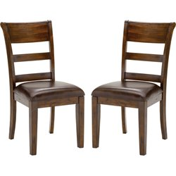 Hillsdale Park Avenue Dining Chair in Dark Cherry (Set of 2)