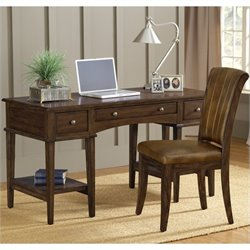 Hillsdale Gresham Desk And Chair in Cherry
