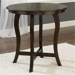 Hillsdale Wilmington Round Counter Height Table in Cappuccino