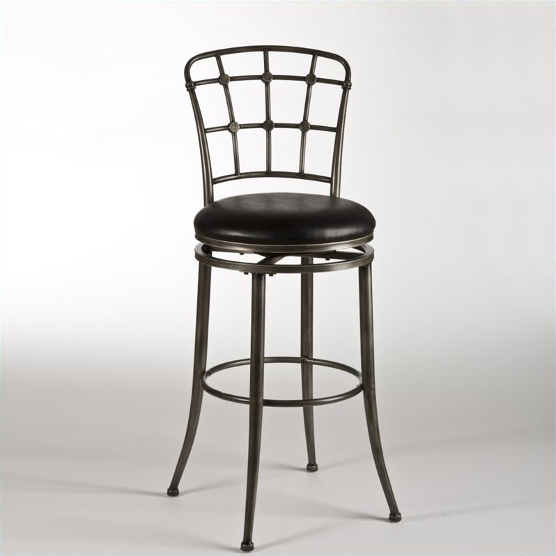 Montello 30 Quot Swivel Bar Stool In Old Steel 4361 831