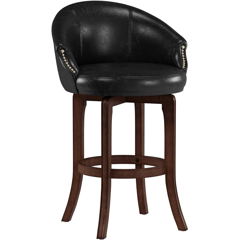 Hillsdale Dartford 30quot Swivel Bar Stool in Dark Brown  : 429456 L from www.cymax.com size 798 x 798 jpeg 49kB