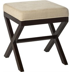 Hillsdale Morgan Vanity Stool in Espresso
