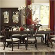 Hillsdale Grandover Large Extension Rectangle Dining Table in Dark Cherry