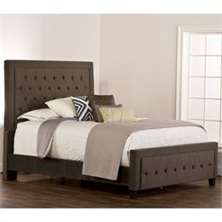 Hillsdale Kaylie Upholstered Bed in Pewter