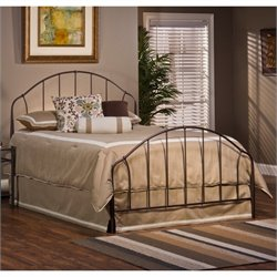 Hillsdale Marston Bed in Bronze - Queen