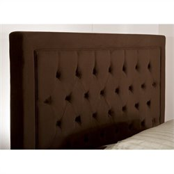 Hillsdale Kaylie Headboard in Chocolate - Queen