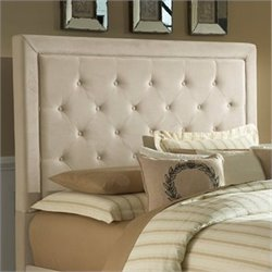Hillsdale Kaylie Tufted Panal Headboard in Buckwheat - Queen
