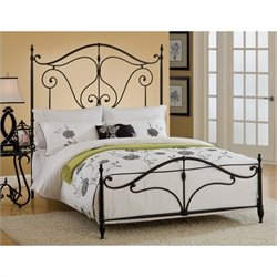 Hillsdale Caffrey Bed in Dusty Bronze Finish - Full