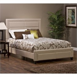 Hillsdale Kiki Bed in Ivory Colored Linen - Queen