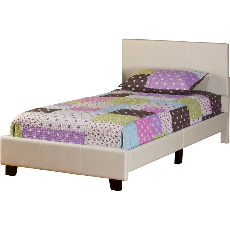 Hillsdale Springfield Bed In A Box Twin Bed In White Faux
