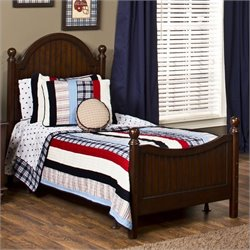 Hillsdale Westfield Bed in Espresso Finish