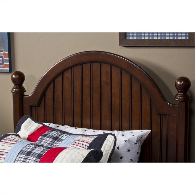 Hillsdale Westfield Post Headboard in Espresso Finish
