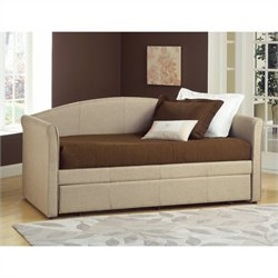 Hillsdale Siesta Daybed in Beige Fabric - Without Trundle