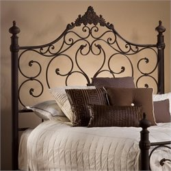 Hillsdale Baremore Spindle Headboard in Brown - Queen