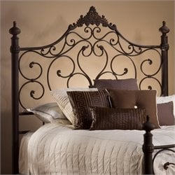 Hillsdale Baremore Spindle Headboard in Brown - King