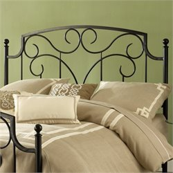 Hillsdale Cartwright Headboard in Magnesium Pewter - Queen