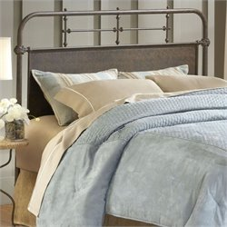 Hillsdale Kensington Headboard with Rails in Old Rust - Twin