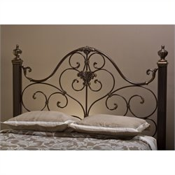 Hillsdale Mikelson Spindle Headboard in Antique