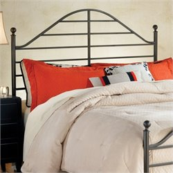 Hillsdale Trenton Headboard with Rails in Magnesium Pewter