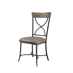 Hillsdale Charleston X-Back Dining Chair (Set of 2)